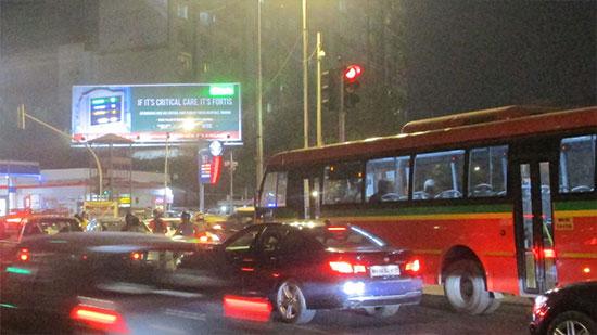 Fortis campaign at Cadbury Junction, Mumbai